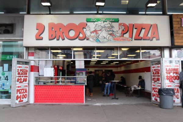 Best Pizzas in New York - 2 Bros Pizza is Where to Buy NY Pizzas Very Cheaply