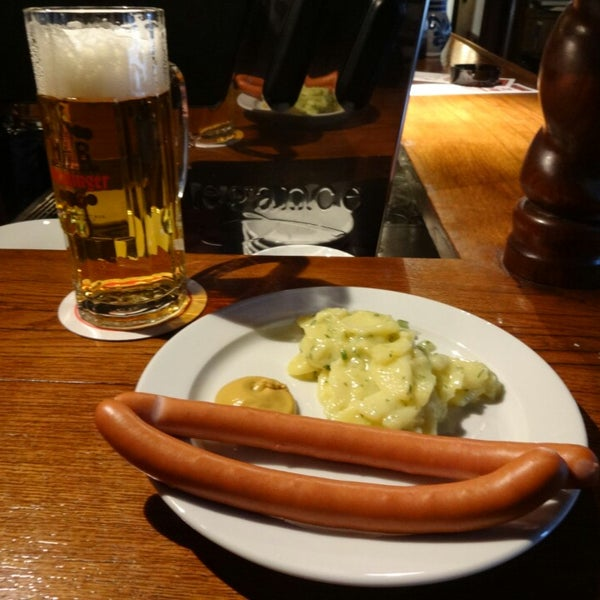 Cheap Eats Frankfurt - Alten Limpurg Provides Potato Salad As Well As Pretzels