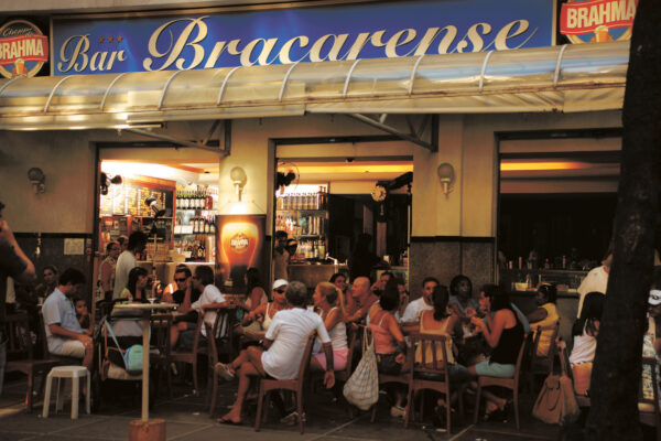 Travel Guide Brazil - Bar Bracarense is Located in Wealthiest Area of Leblon