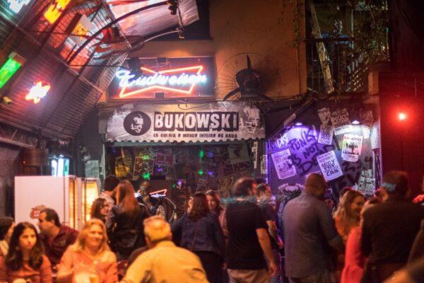 10 Best Bars in Rio De Janeiro - Bar Bukowski Has A Lounge Serving Hookah