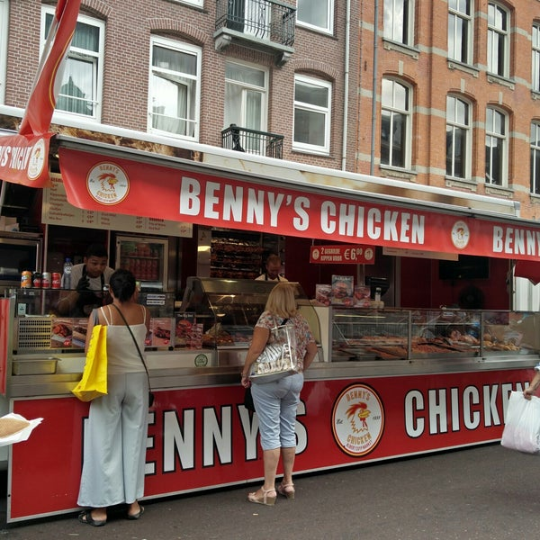 Cheap Eats Amsterdam - Benny's Chicken Offers Dutch Free-Range Chicken And Hot Dogs