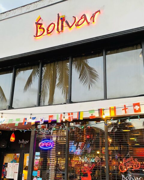 Best Places to Eat in Miami - Bolivar Restaurant Bar Show Soccer Matches Love