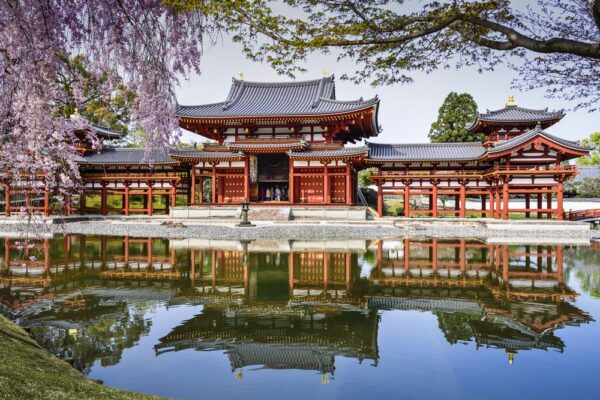 World Famous Temples - Byodoin Temple is Located in Uji Town Near Kyoto