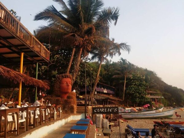 Pubs in Goa - Curlies Beach Shack Gives You An Amazing Nightlife Goa And View of The Seashore