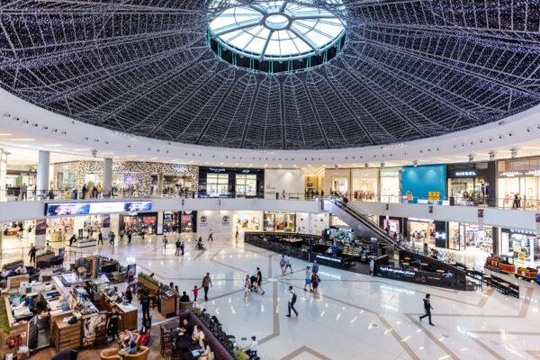 Dubai Mall - Dubai Marina Mall is Home to Many Classy Fashion Brands and Supermarkets