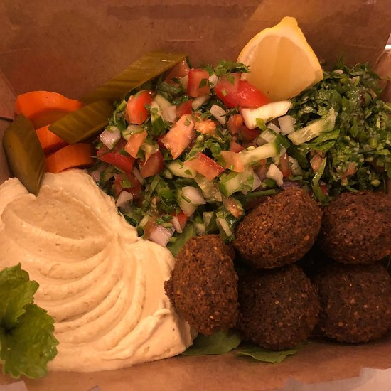 Cheap Places to Eat in Dubai - Falafel Balls from Falafel Farm Try Their Breakfast Deals As Well
