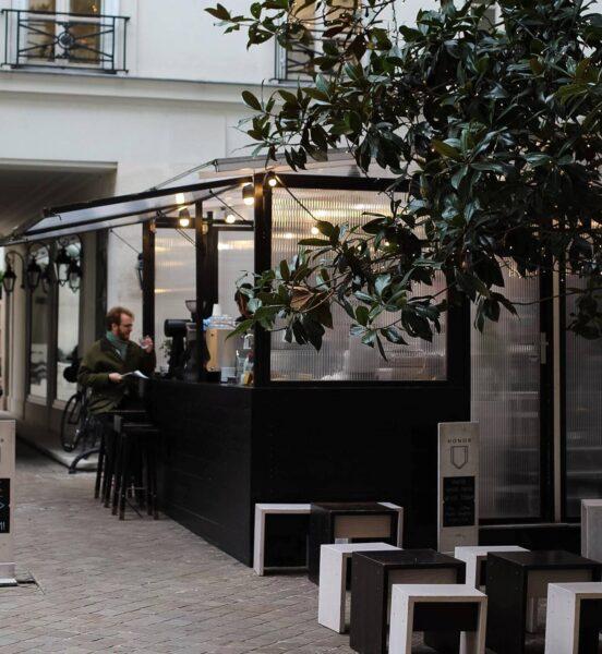 Parisian Café - Honor is Paris Cafeteria Located Near the Comme des Garçons