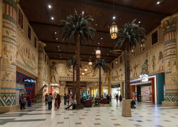 Dubai Mall - Ibn Battuta Mall is Home To A Wide Number of Fashion And Has A Big Cinema