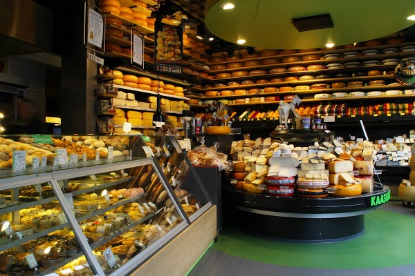 Budget Food Netherlands - Kaasland Haarlemmerdijk Offers Cheese Like Gouda or Alkmaar