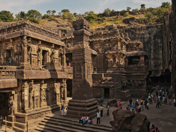 Largest Hindu Temple in The World - Kailashnath Temple is Carved From A Single Piece of Stone