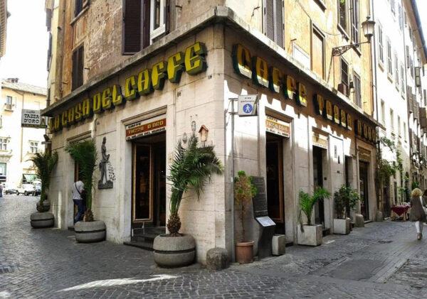 Best Coffee in Rome - La Casa Del Caffè Tazza D'oro Offers Mazinga Cappuccino, Espresso & Granita Al Caffè
