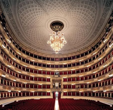 Most Famous Opera Houses - La Scala is Located in Italy and Has A Collection of Costumes And Paintings