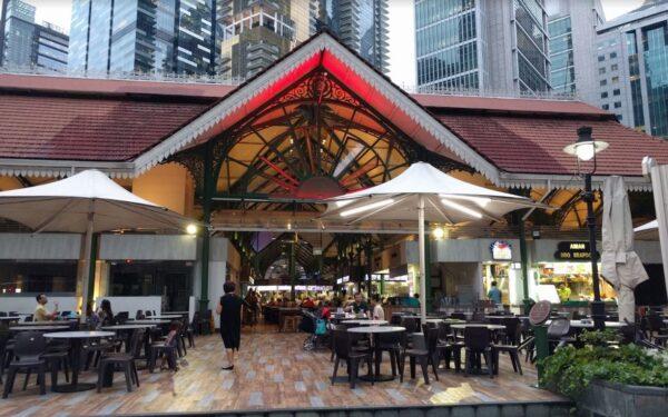 Cheap Eats Singapore - Lau Pa Sat Market (Telok Ayer Market) Houses Over 200 Food Stalls