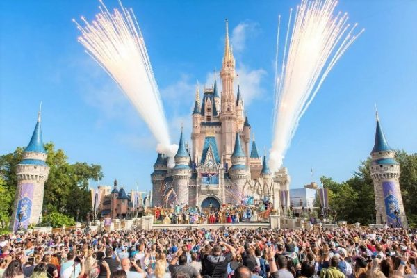 Best Amusement Park - Magic Kingdom Park Florida is The most Visited Theme Park in The World