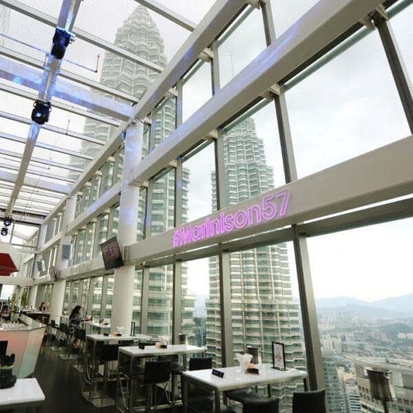 Bars KL - Marini 57 is Rooftop Bar KL to See Most Famous Celebrities in Asia.