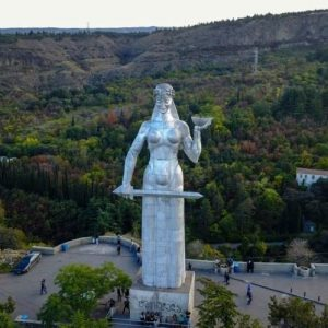 Georgia Travel Tips - Mother Georgia Statue's climb is One of the best Tbilisi Attractions And is Suitable to Visit From Spring Through Autumn