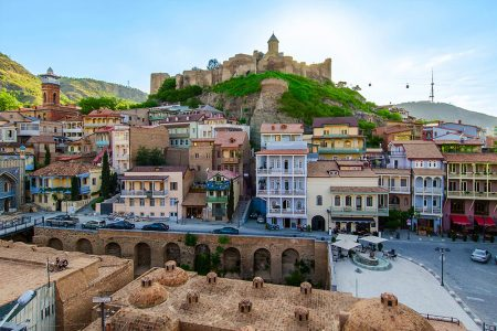 Places to Visit in Tbilisi - Narikala Fortress is Located is Near the Mother Georgia