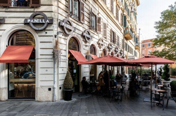 Rome Cafes - Pasticceria Panificio Panella Roma Has Fantastic Breads, Pastries