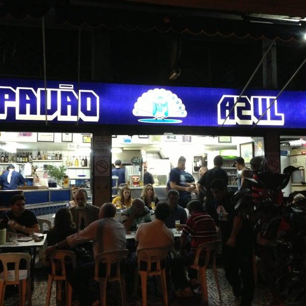 Bars Rio de Jneiro - Pavão Azul Bar is Located in Copacabana Area is Famous For Cold Beer And Codfish Bolinhos