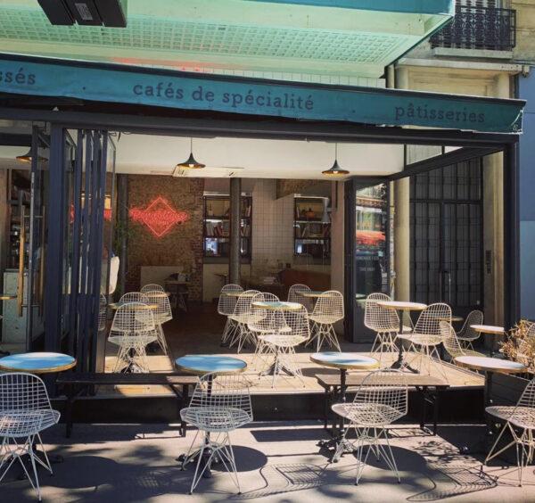Best Cafes in Paris - République of Coffee is Located Behind Place de la République