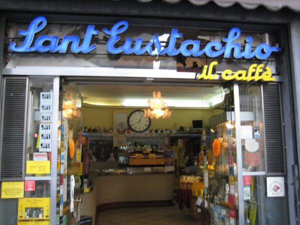 Best Coffee in Rome - Sant' Eustachio Il Caffè Has Beans From Brazil And Guatemala