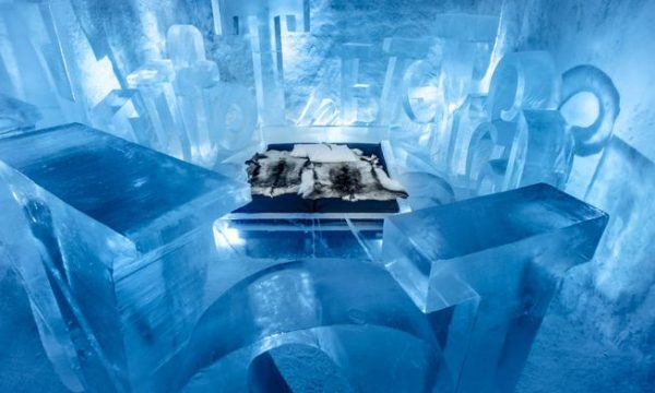 7 Most Unique Hotels Around the World - Sweden's Ice Hotel is An Unusual Hotel Made of Ice