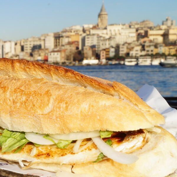 Cheap Restaurants in Istanbul - Tarihi Eminönü Balık Ekmek is A Fish Sandwich And A Must Try