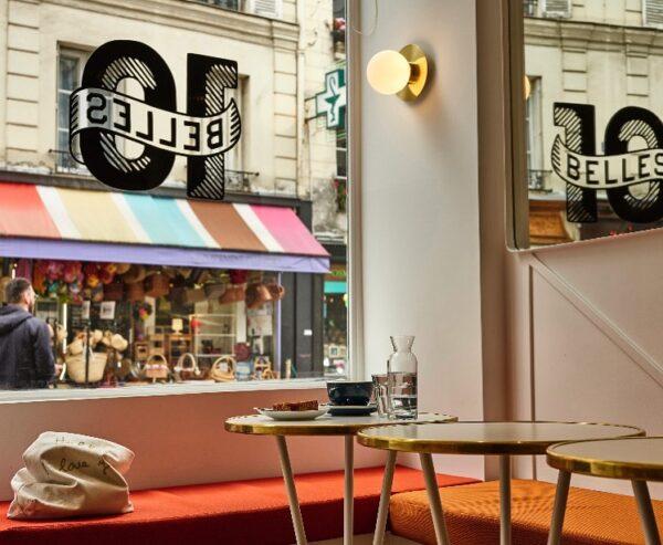 Best Cafes in Paris - Ten Belles is A Paris Cafeteria Shop Favorite Among Locals