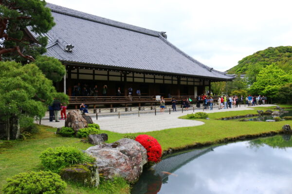 World Famous Temples - Tenryuji Temple is Located Near Arashiyama Mountains