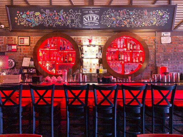 Best Bars in Kuala Lumpur - The Attic Bar is Where Visitors Can Just Go to Have A Drink