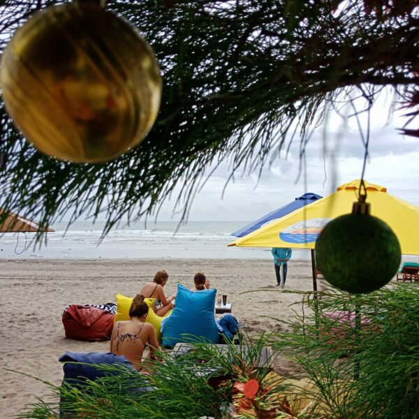 Beach Clubs Bali - The Champlung Bar & Restaurant is Located on Seminyak Beach