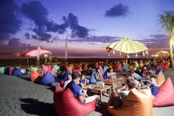Beach Clubs Bali - The Sand Beach Bar & Restaurant is Suitable For Having Bintang Beer