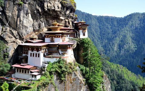 10 Temples You Should Put in Your Travel List - Tiger's Nest Monastery Also Known As Paro Taktsang
