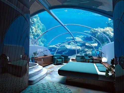 Underwater Resort in Maldives