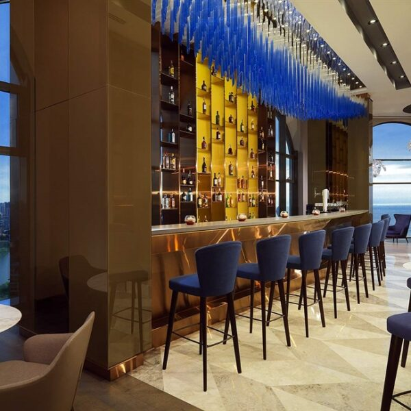 Top Bars in Batumi - 360 Sky Bar is Near Rustaveli Ave in Sheraton Hotel