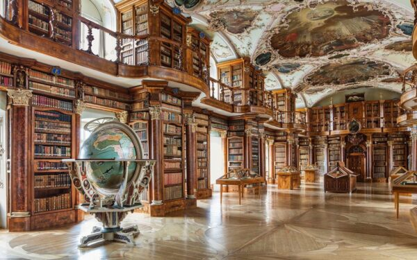 Most Beautiful Libraries in The World - Abbey Library of Saint Gall is Located in Switzerland