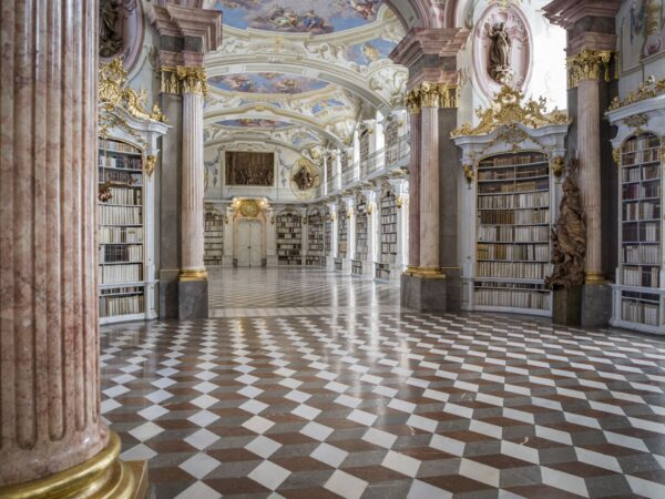 Most Beautiful Libraries in The World - Admont Abbey Library is The Biggest Monastery Library in The World