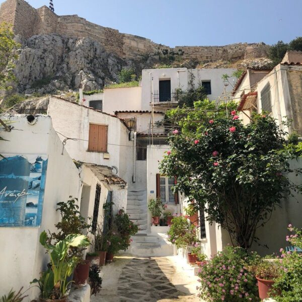 Travel Guide Greece - Anafiotika is Located on The Northern Slope of The Acropolis