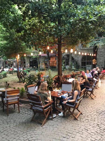 Top Cafes in Bursa - Baycan Bey'in Meşhur Kahvesi is Located in A Beautiful Neighborhood of Fidan Han
