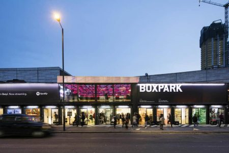 Malls in London - Boxpark is Located At Shoreditch High Street Selling Niche Products