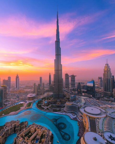 Dubai Tourist Attractions - Burj Khalifa is The Tallest Building Worldwide