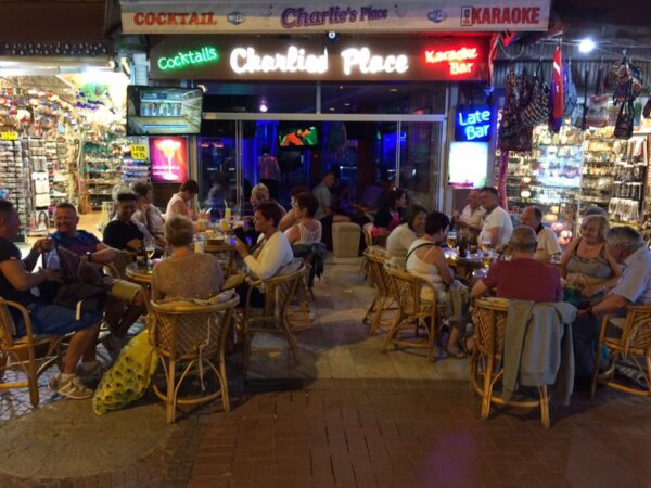 Kusadasi Nightlife - Charlie's Place is Near Alacamescit in Kahramanlar Cd