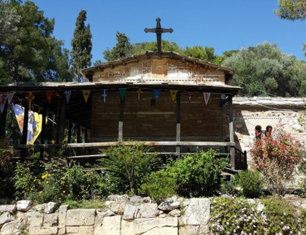 Athens Sightseeing - Church of Saint Demetrios Loumbardiaris is Located on The Slopes of Filopappou Hill