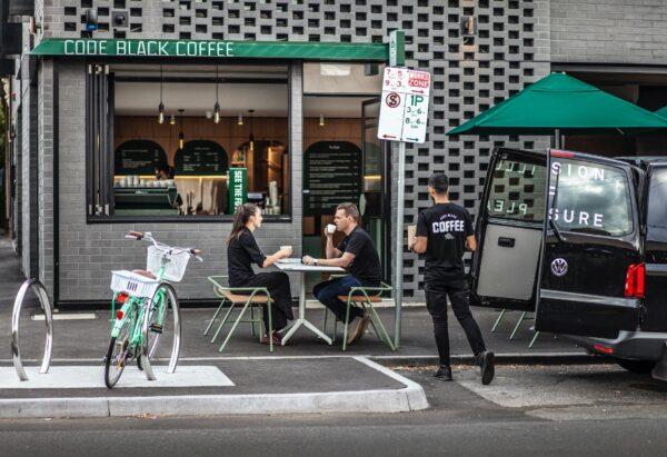 Best Coffee in Melbourne - Code Black Coffee Roasters Also Has Lunch Menu