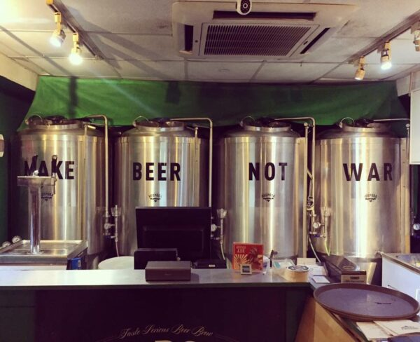 Pubs in Asia - Hospoda Microbrewery Specializes on Czech Beer (Pilsner)