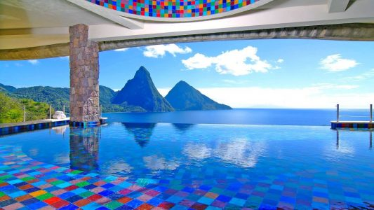 Adventure Bucket List - Jade Mountain is Where You Can Find it in Caribbean Sea