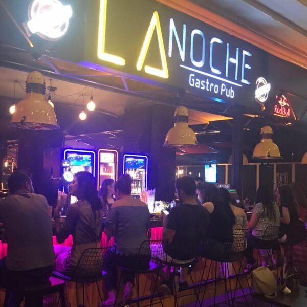 Adana Bar - La Noche Gastro Pub is Located at Güzelyalı in Turgut Özal Blv