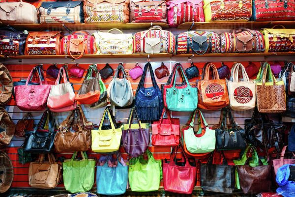 Africa Travel Tips - Leather Bags is of High Quality And Make Sure to Smell Them First