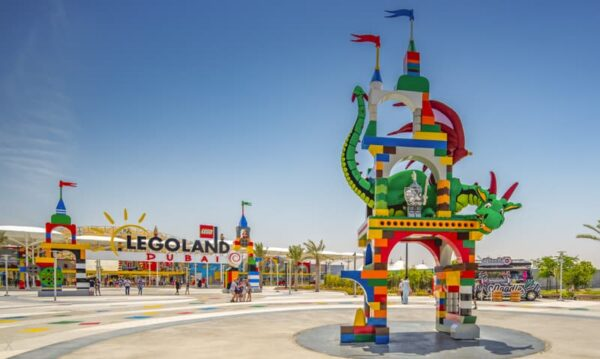 Dubai Tourist Attractions - Dubai Parks and Resorts Includes Dubai Legoland