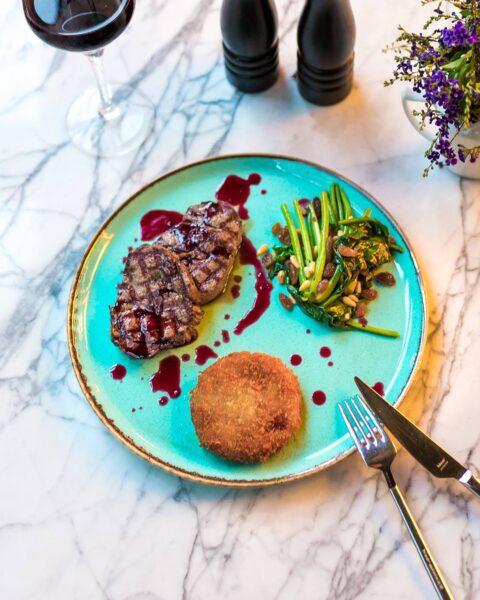 5 Best Dinner Restaurants in Adana - Lokal Cafe & Bistro Has Fantastic Grill Rib Steak
